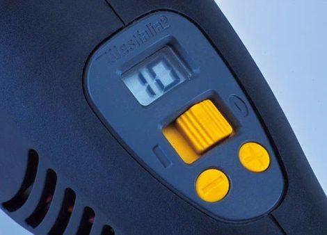 WESTFÁLIA 1100W polírozógép LCD-vel.