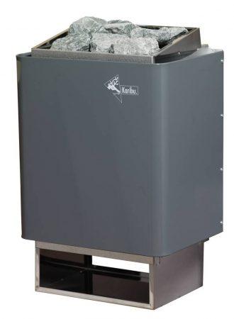 Karibu szauna kályha külső vezérléssel, 7,5 kW, hozzá 18 kg szauna kő