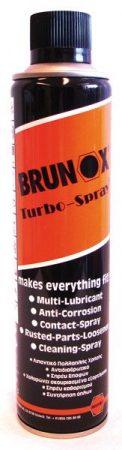 BRUNOX turbóspray, 400 ml – kenő, behatoló olaj, tisztítószer.