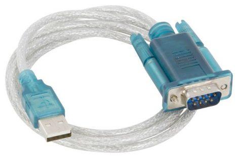 SECORÜT nyomtató kábel Akkucsekk 12 és 24V-hez.