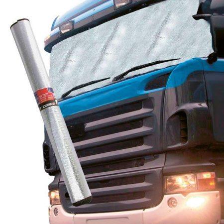 Tehergépkocsi, kamion és van alu-szélvédő, hő és fagy védő fólia.