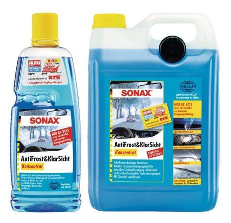 SONAX ANTIFROST & tiszta látás koncentrátum, 1 liter – a tiszta látásért.