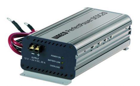 WAECO feszültség-átalakító, Perfect Power DCDC20-20 A-12 V >> 24V
