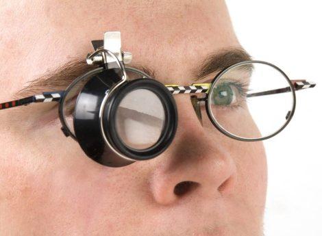 WESTFÁLIA csipeszes nagyító szemüvegre, 3-szoros nagyítás.