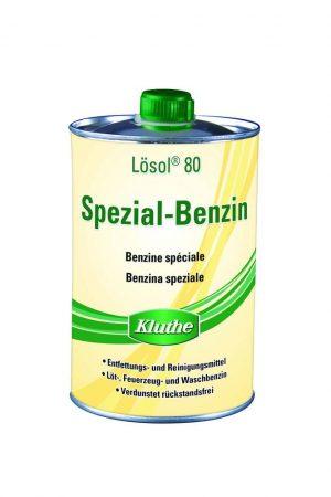 KLUTHE speciális benzin festékoldó 80 - 1 literes dobozban.