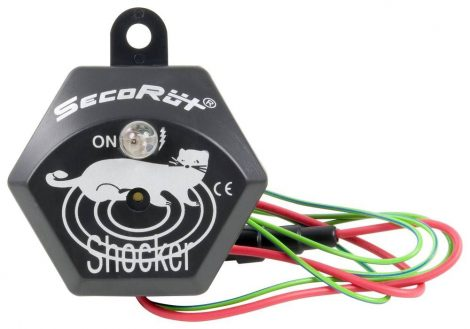 SECORUT nyestriasztó – ultrahangos és LED motortér világítás.