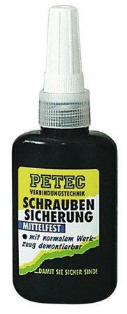PETEC csavarrögzítő, középerős, 50g.