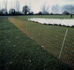 EURO elektromos szárnyas háló, 14 oszloppal, 50 m hosszú.