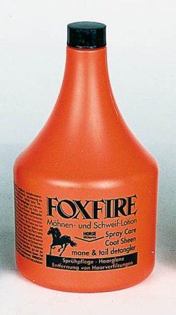 """HORSE FITFORM """"FOX FIRE"""" csillogó sörény, sörény és farok ápoló, 1 literes üvegben."""