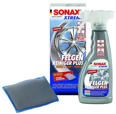 SONAX XTREME felni tisztító, PLUS 500 ml + mikro-szálas felni szivacs.