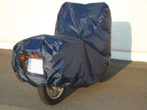 Motor ponyvagarázs, poliamid (nejlon) méret: M, 260 x 190 x 120 cm.