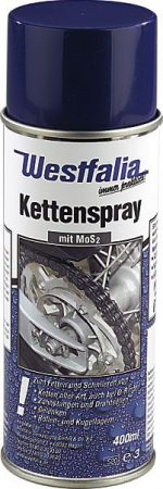 WESTFÁLIA láncspray, 400 ml MOS2-vel.
