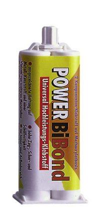 PETEC POWER BIBOND duplatöltényes ragasztó, 50 ml.