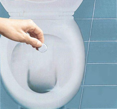 """Medosan """"Swiss Tabs' vécétisztító tabletta, alapos tisztítás, 20 tabletta"""