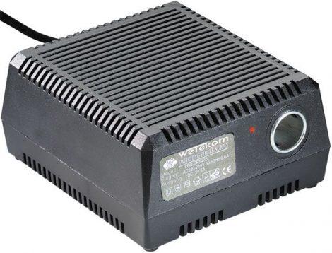 Hálózati 230 V szivargyújtó aljzat 12 V-os berendezésekhez – váltófeszültség