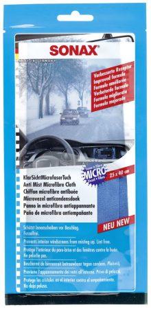SONAX tiszta szélvédő kendő.
