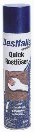 WESTFÁLIA QUICK rozsdaoldó spray, 400 ml, szilikon-mentes.