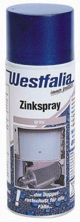 WESTFÁLIA horganyspray, világos ezüst, 400 ml.