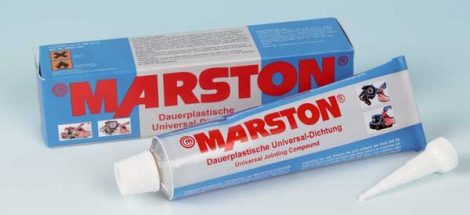 MARSTON DOMSEL univerzális tömítő, tartósan plasztikus, 80 ml.