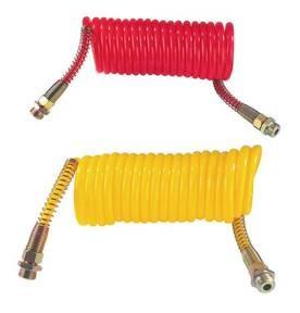 Sűrített levegő flexibilis cső piros  különböző kivitelben, piros