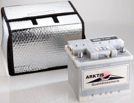 Akkumulátor hőszigetelő takaró, 32-45AH, MA25 x MÉ26 x H29 cm.