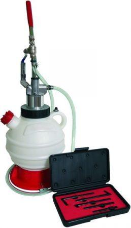 Kunzer professzionális olajbetöltő berendezés adapterekkel