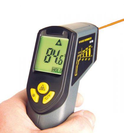 Infrahőmérő.