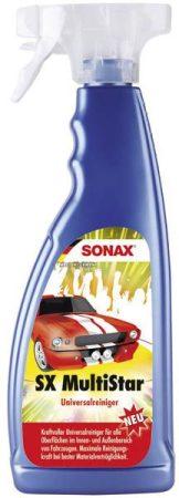 SONAX gépkocsi univerzális tisztító – SX MultiStar – 750 ml PET szórófej.