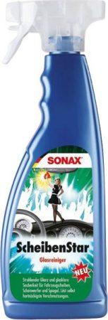 SONAX szélvédőtisztító, 750 ml szórófejes.