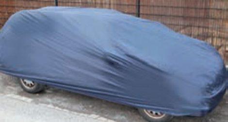 Személygépkocsi teljes ponyvagarázs, tartótáskával mérete S – 405 x 155 x 119 cm.