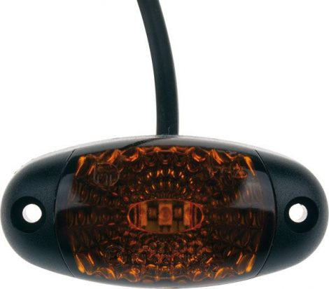 LED pozíciójelző. Narancs.
