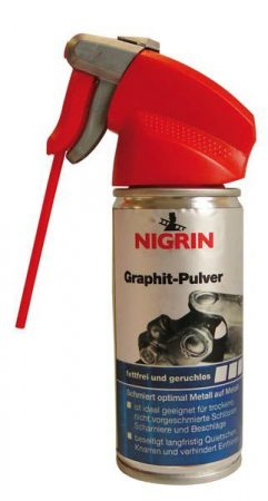 NIGRIN grafitpor spray, 100 ml.