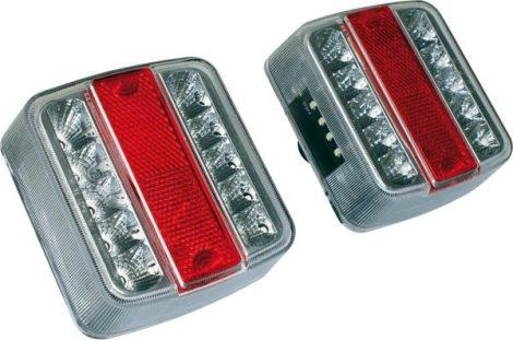 LED utánfutó hátsóvilágítás 2 db a csomagban.
