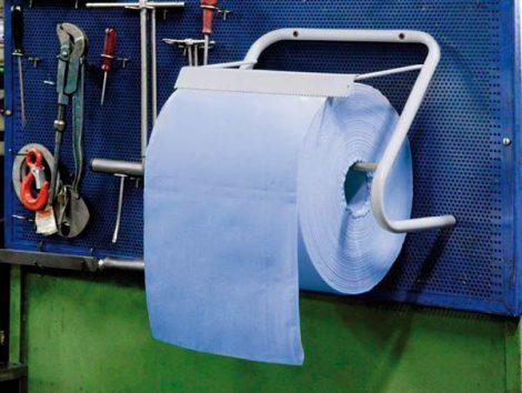 Inox adagolórendszer/ fali tartó a tisztítókendő tekercshez