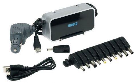 WAECO töltőberendezés – erőcsomag LC – laptop, rádiótelefon, I-Phone, GPS részére