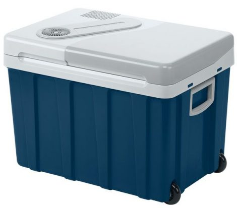 WAECO termo-elektronikus hűtő box W40, 12 V/24 V/230 V - kerekekkel
