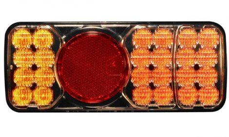 LED hátsóvilágítás utánfutók, vontatók és gépkapcsolatokhoz – bal és jobb oldal.