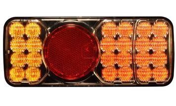 LED hátsóvilágítás utánfutók és vontatók részére - bal oldali