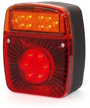 LED hátsóvilágítás utánfutók és vontatók részére – bal és jobb