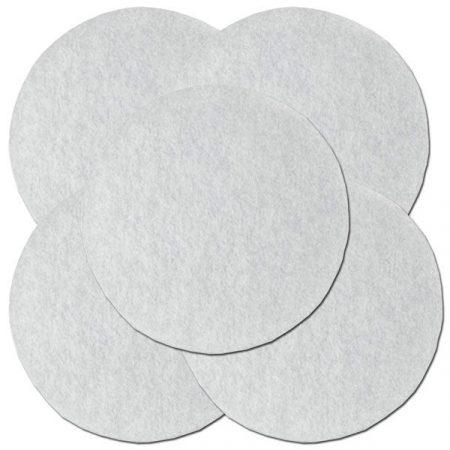 FEIN filc polír pad, átmérő: 115 mm, 5 db.