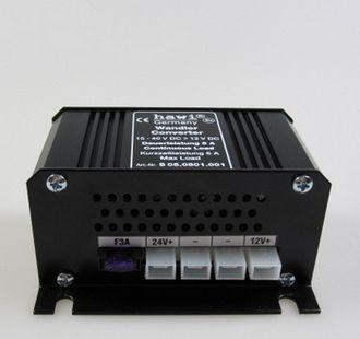 HAWI ® feszültség-átalakító 24 V-12 V-5 Amper