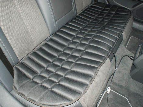Ülésfűtő szőnyeg a hátsó üléssorban