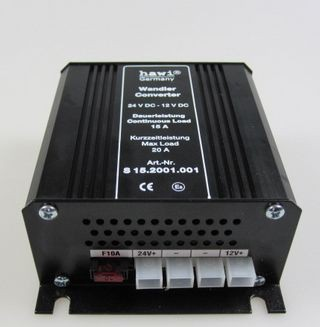 HAWI ® feszültség-átalakító 24 V-12 V-15 Amper