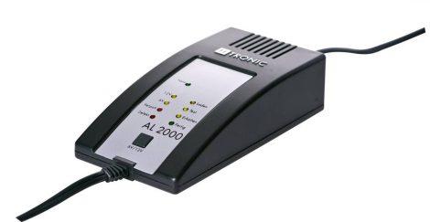 H-TRONIC AE-2000 – teljesen elektronikus akkumulátortöltő 6+12V-os ólomakkuhoz.