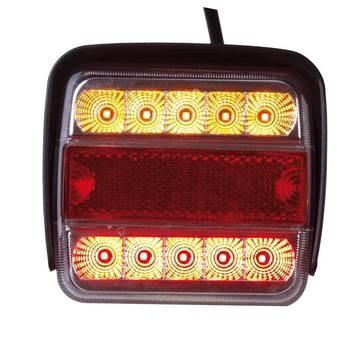 LED kamrás hátsóvilágítás – különálló vagy egy darabos csomag - 2 db a csomagban.