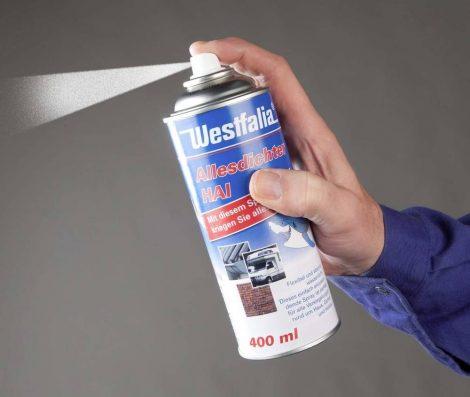 WESTFÁLIA mindent tömítő hai, 400 ml spray, fehér