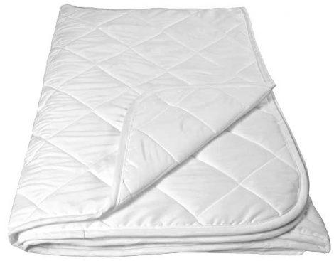 CASA VIDA szteppelt nyári takaró, 135 x 200 cm, fehér