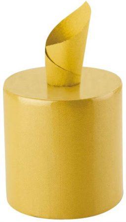 Univerzális tisztítókendő rolni sárga, kétrétegű, 400 lap, 2 tekercs