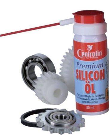 CENTRALIN prémium szilikon olaj, 50 ml-es spray autó, hobbi és műhely célra.