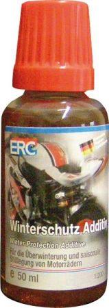 ERC téli védelem adalék motorkerékpároknak.